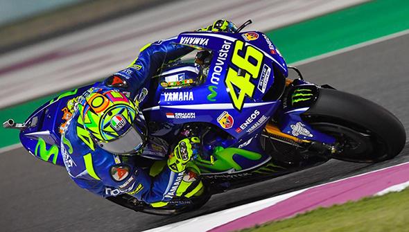 Rossi tes Qatar 2017