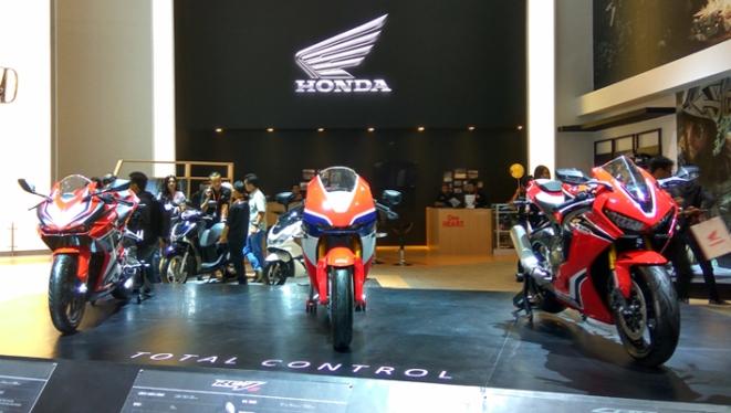 Booth Honda