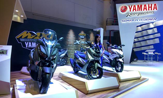 Booth Yamaha