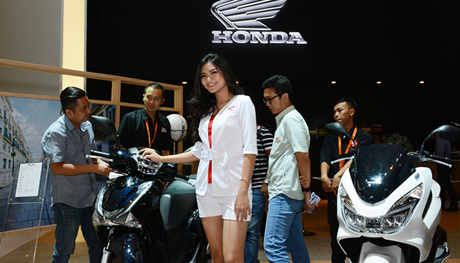 Launching Honda SH