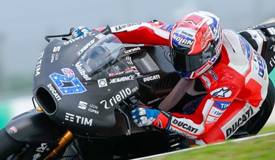 Stoner test Ducati