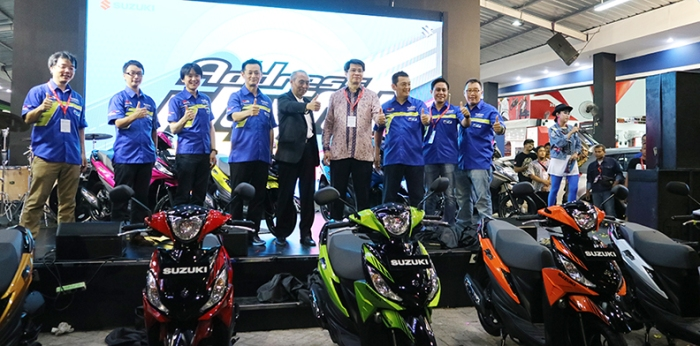 Launching Suzuki Adress Playfull 1 PRJ 2017
