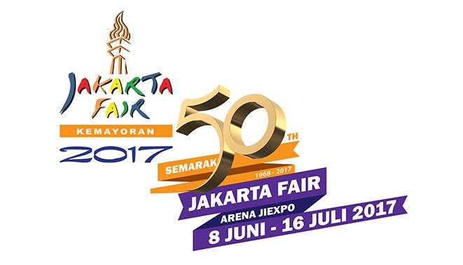 Logo Jakarta Fair 2017
