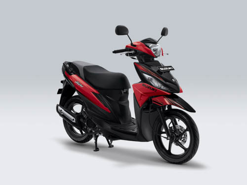 Suzuki Adress STRONGER RED