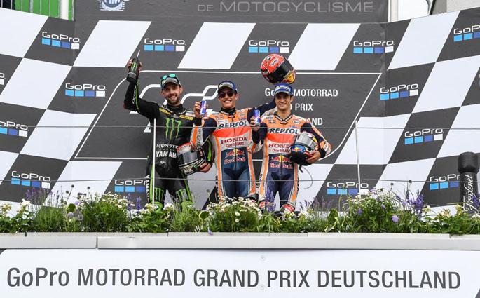 Podium Sachsenring 2017