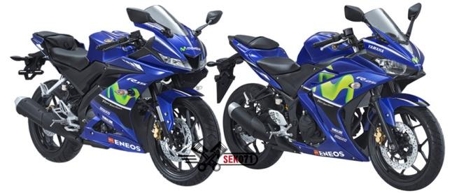 R15 dan R25 Livery MotoGP 2017
