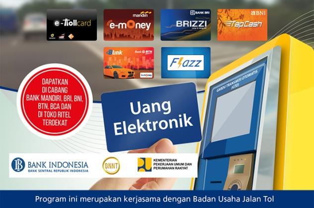 Ilustrasi Jalan Tol Uang Elektronik 2017