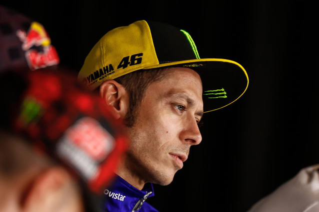 Rossi accident