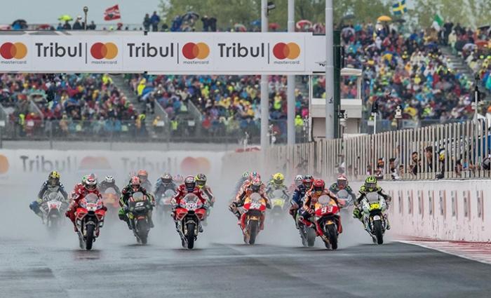 Start MotoGP Misano 2017