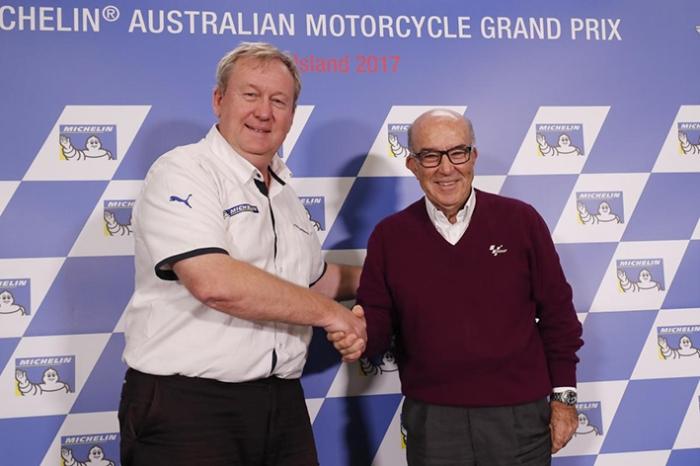 Bos Michelin dan Bos DORNA 2017