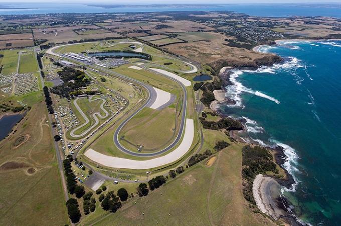 Sirkuit Phillip Island LKCL 2017
