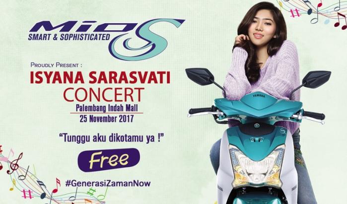 Konser Isyana Palembang 2017