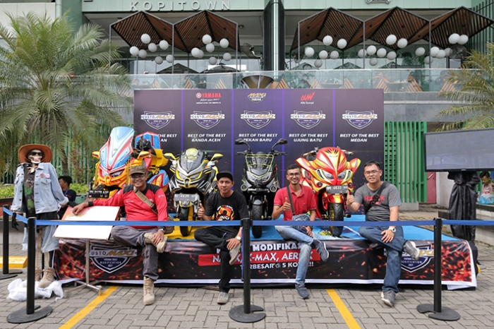 Best of The Best Nmax Regional Sumatera Utara 1
