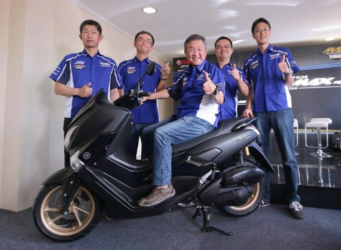 Launching NMAX 2017 Yamaha ok