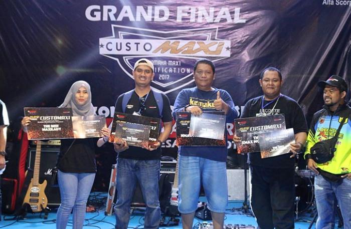 Pemenang CustoMAXI Nasional Medan 2017