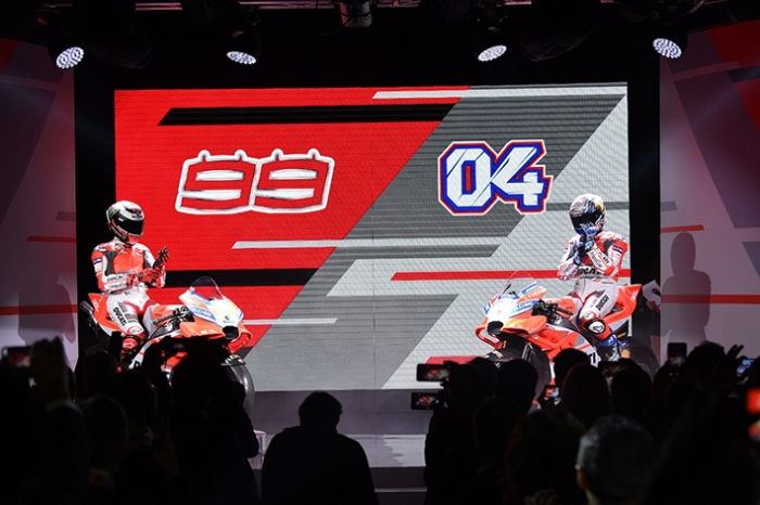 Ducati dan Rider Musim 1 2018