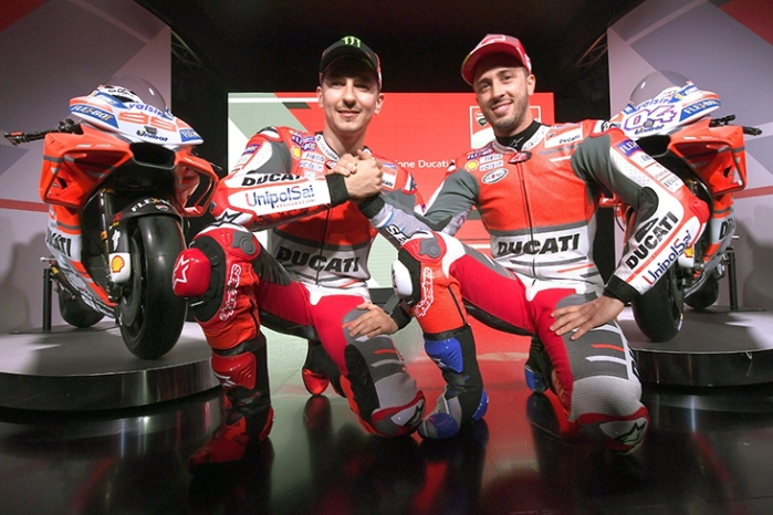 Ducati dan Rider Musim 2018