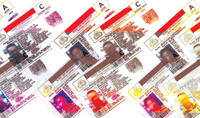 Ilustrasi SIM A dan SIM C