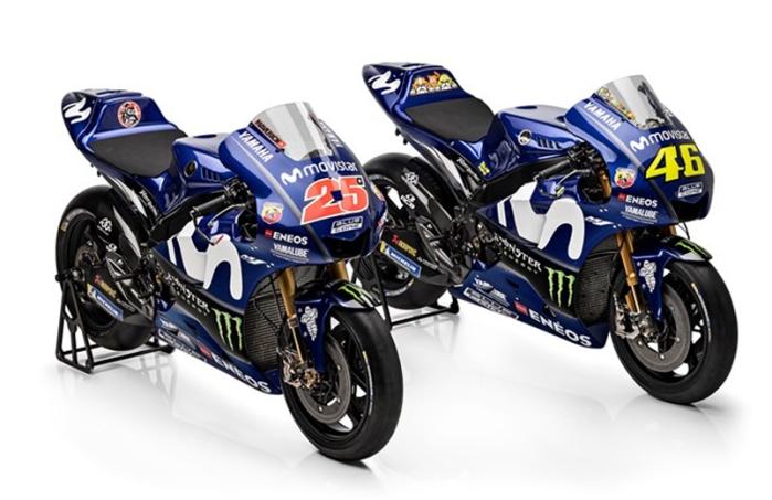 Motor Rossi dan Vinales MotoGP 2018