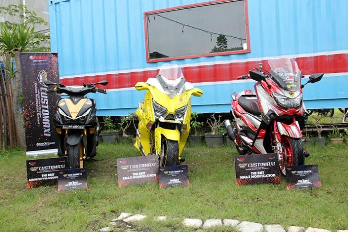 Pemenang semifinal CustoMAXI di Bali (kelas NMAX XMAX AEROX 155) (1)