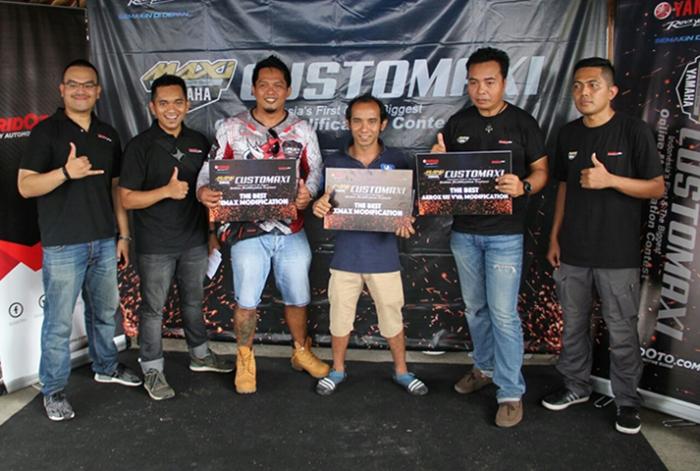 Pemenang semifinal CustoMAXI di Bali (kelas NMAX XMAX AEROX 155) (2)