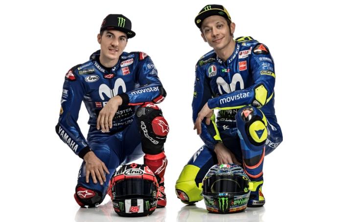 Rossi dan Vinales MotoGP 2018