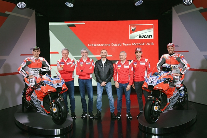 Tardozzi dan Tim Ducati 2018 1