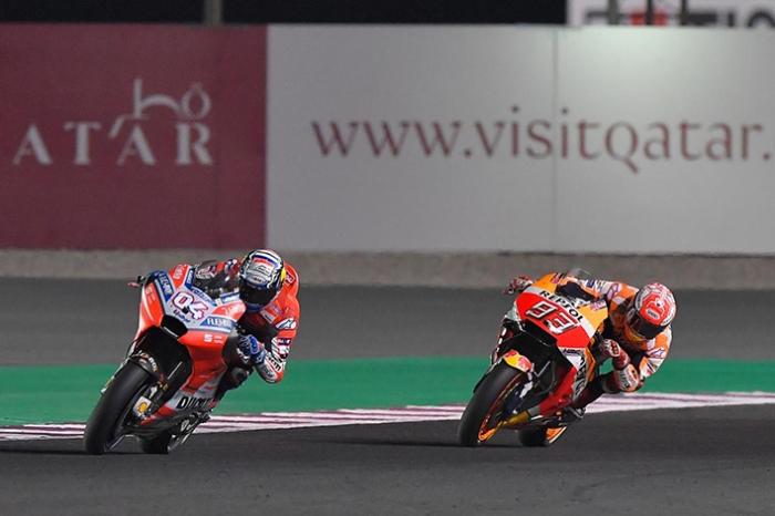 balapan Qatar 2018