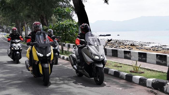 MAXI Yamaha Tour de Indonesia touring di daerah Sabang