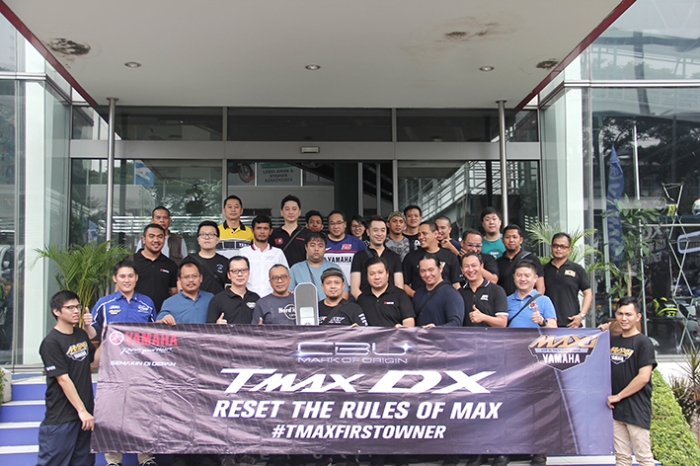 TMAX DX Impor Jepang 1 2018