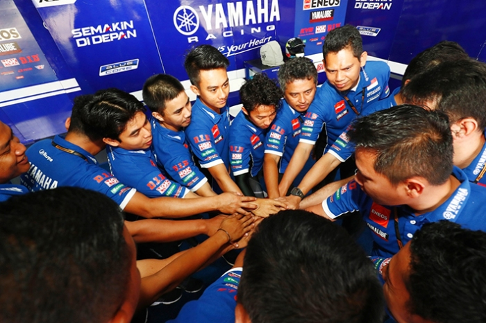 Tim Yamaha Racing Indonesia Optimis