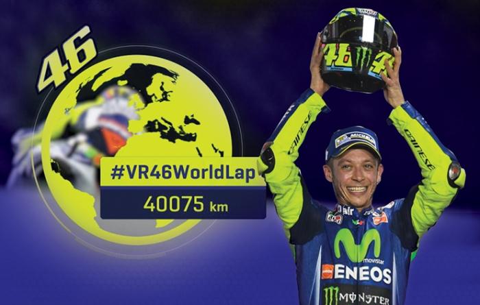 Rekor World Lap Rossi 2018
