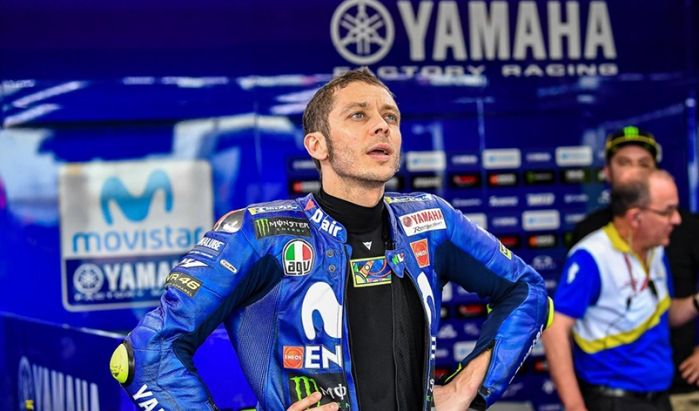 Rossi 2018 tolak pinggang oye