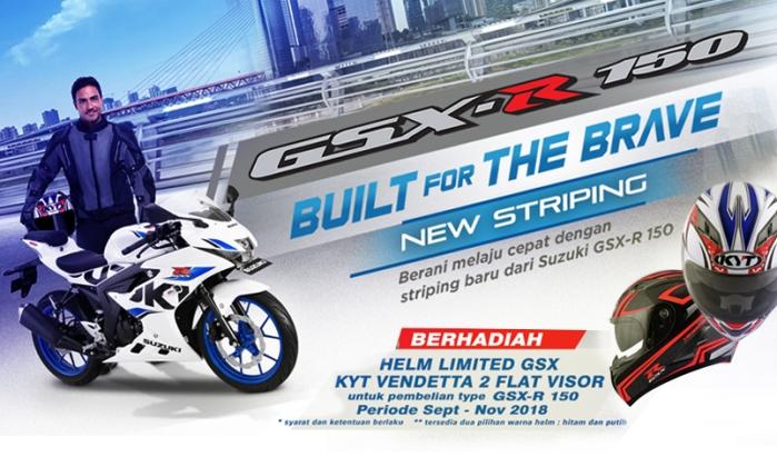 Promo Suzuki GSX 2018