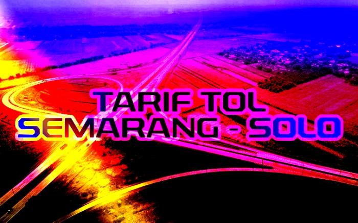 bg tarif tol semarang - solo