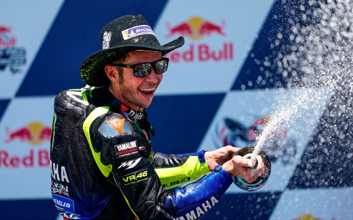 Selebrasi Rossi Austin 2019