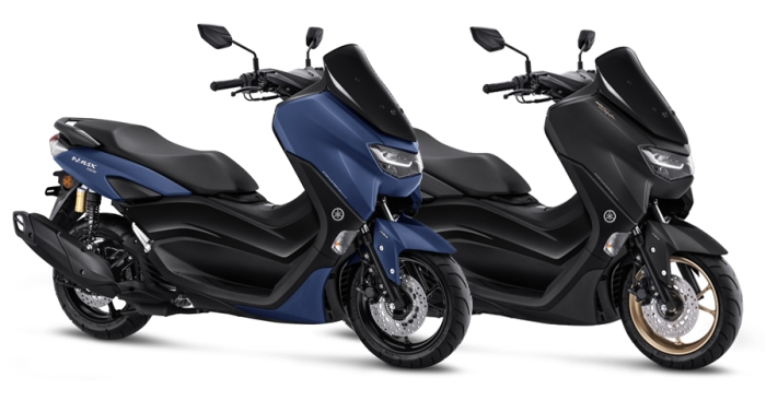 All New NMAX ABS Biru Hitam 2019