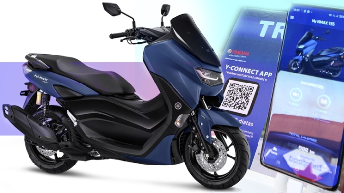 Ilustrasi Y-Connect NMAX ABS