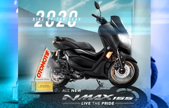 NMAX Bike of The Year 2020 OTOMOTID AWARD